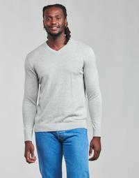 textil Hombre Jerséis Esprit F PIMA V-NK Gris
