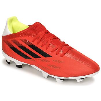 Zapatos Fútbol adidas Performance X SPEEDFLOW.3 FG Rojo