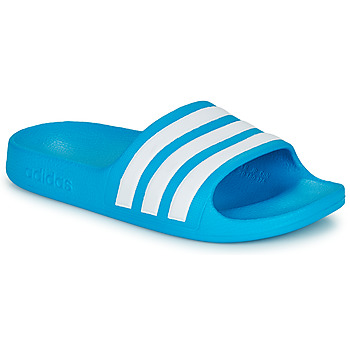 Zapatos Niños Chanclas adidas Performance ADILETTE AQUA K Azul / Blanco