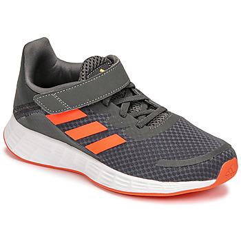Zapatos Niño Running / trail adidas Performance DURAMO SL C Gris / Rojo