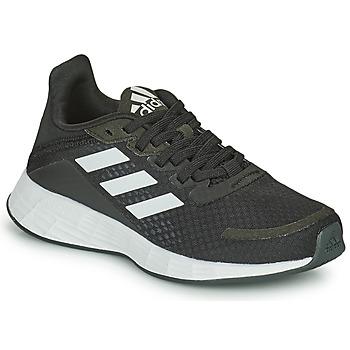 Zapatos Niños Running / trail adidas Performance DURAMO SL K Negro / Blanco