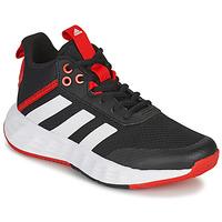 Zapatos Niños Baloncesto adidas Performance OWNTHEGAME 2.0 K Negro / Rojo