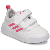 Zapatos Niña Zapatillas bajas adidas Performance TENSAUR C Blanco / Rosa