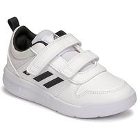 Zapatos Niños Zapatillas bajas adidas Performance TENSAUR C Blanco / Negro