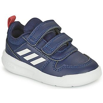 Zapatos Niños Zapatillas bajas adidas Performance TENSAUR I Marino / Blanco