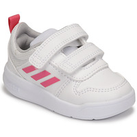 Zapatos Niña Zapatillas bajas adidas Performance TENSAUR I Blanco / Rosa