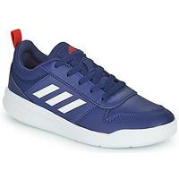 Zapatos Niños Zapatillas bajas adidas Performance TENSAUR K Marino / Blanco
