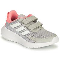 Zapatos Niña Running / trail adidas Performance TENSAUR RUN C Gris / Rosa
