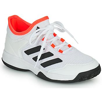 Zapatos Niños Tenis adidas Performance Ubersonic 4 k Blanco / Rojo