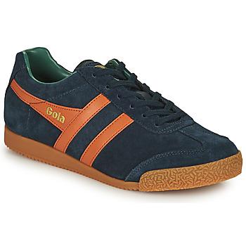 Zapatos Hombre Zapatillas bajas Gola HARRIER Marino / Naranja