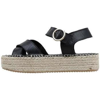 Zapatos Mujer Sandalias Senses & Shoes  Negro