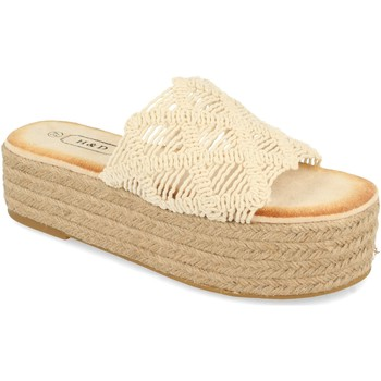 Zapatos Mujer Zuecos (Mules) H&d YZ19-311 Beige