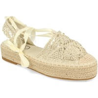 Zapatos Mujer Alpargatas H&d YZ19-329 Beige