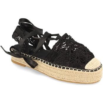 Zapatos Mujer Alpargatas H&d YZ19-329 Negro