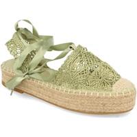 Zapatos Mujer Alpargatas H&d YZ19-329 Verde