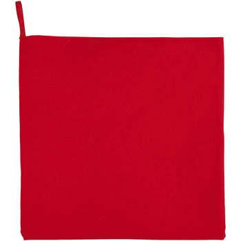 Casa Toalla y manopla de toalla Sols ATOLL 30 ROJO Rojo