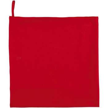 Casa Toalla y manopla de toalla Sols ATOLL 70 ROJO Rojo