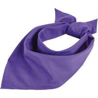 Belleza Tratamiento capilar Sols BANDANA Morado Oscuro Violeta