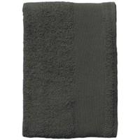 Casa Toalla y manopla de toalla Sols BAYSIDE 100 Gris Oscuro Gris