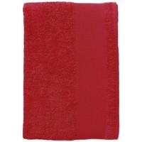 Casa Toalla y manopla de toalla Sols BAYSIDE 100 Rojo Rojo