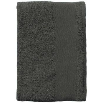 Casa Toalla y manopla de toalla Sols BAYSIDE 70 Gris Oscuro Gris