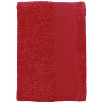 Casa Toalla y manopla de toalla Sols BAYSIDE 70 Rojo Rojo