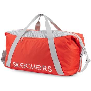 Bolsos Bolso de viaje Skechers NET Bolsa unisex Rojo Mandarina