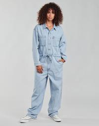 textil Mujer Monos / Petos Levi's ROOMY JUMPSUIT Azul