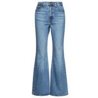 textil Mujer Vaqueros bootcut Levi's 70S HIGH FLARE Azul