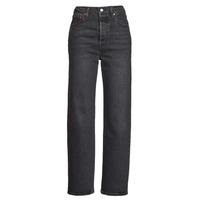 textil Mujer Vaqueros rectos Levi's RIBCAGE STRAIGHT ANKLE Gris