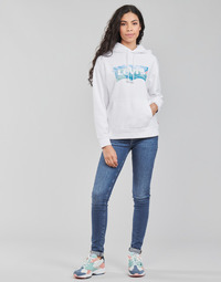 textil Mujer Vaqueros slim Levi's 721 HIGH RISE SKINNY Azul