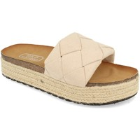 Zapatos Mujer Zuecos (Mules) H&d YT32 Beige