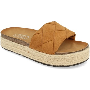 Zapatos Mujer Zuecos (Mules) H&d YT32 Camel