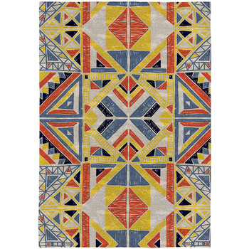 Casa Alfombras Rodier Alfombra decorativa   TENSIVAL multicolor