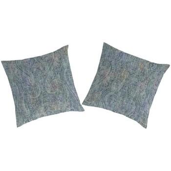Casa Funda de almohada, cojín Guy Laroche Funda de almohada (2)   YANDEL azul/verde