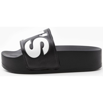 Zapatos Mujer Chanclas Levi's Strauss CHANCLA LEVIS JUNE S BOLD L Negro