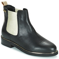 Zapatos Mujer Botas de caña baja Les Tropéziennes par M Belarbi MICKY Negro / Oro