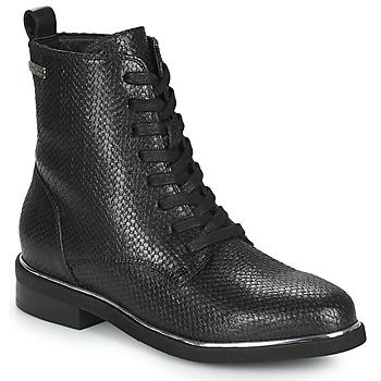 Zapatos Mujer Botas de caña baja Les Tropéziennes par M Belarbi MATHILDE Negro