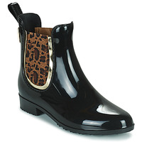 Zapatos Mujer Botas de agua Les Tropéziennes par M Belarbi RAINBOO Negro / Leopardo