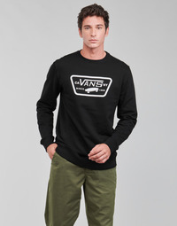 textil Hombre Sudaderas Vans FULL PATCH CREW II Negro