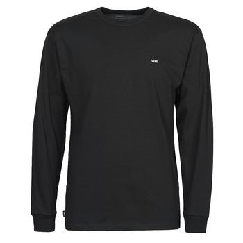 textil Hombre Camisetas manga larga Vans OFF THE WALL CLASSIC LS Negro