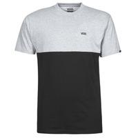 textil Hombre Camisetas manga corta Vans COLORBLOCK TEE Gris / Negro