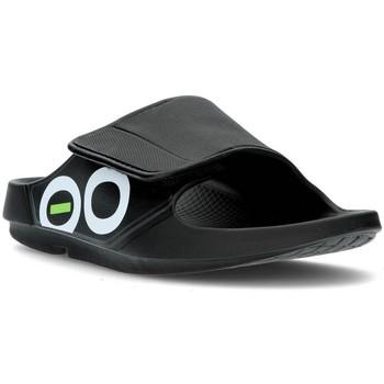 Zapatos Chanclas Oofos OOAHH SPORT 1550 BLACK
