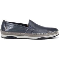 Zapatos Hombre Mocasín Fluchos F0814 HABANA KENDAL MOCASIN LAGO_GRIS