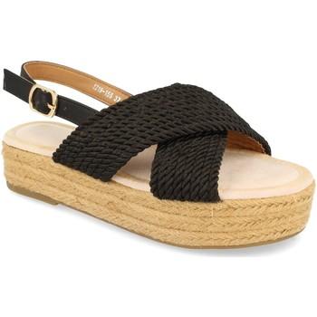 Zapatos Mujer Sandalias H&d YZ19-155 Negro