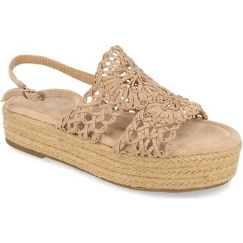 Zapatos Mujer Sandalias H&d YZ19-163 Beige