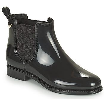 Zapatos Mujer Botas de agua Les Petites Bombes RAIN Negro