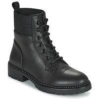 Zapatos Mujer Botas de caña baja Les Petites Bombes AMBELLINE Negro