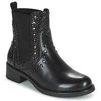 Zapatos Mujer Botas de caña baja Les Petites Bombes ALONA Negro