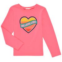 textil Niña Camisetas manga larga Billieblush DEKOU Rosa
